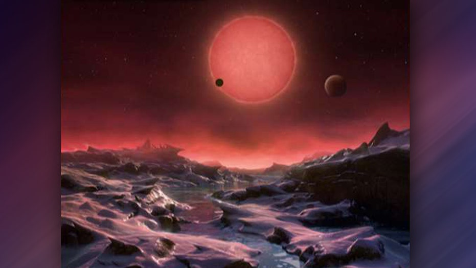 Trio of Earth-like planets may be prime spot for life