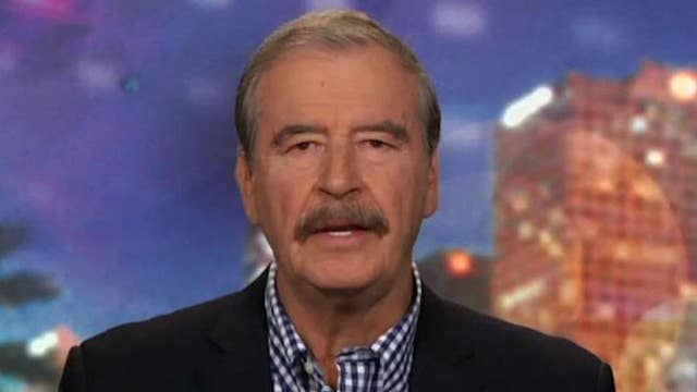 Vicente Fox enters the 'No Spin Zone'