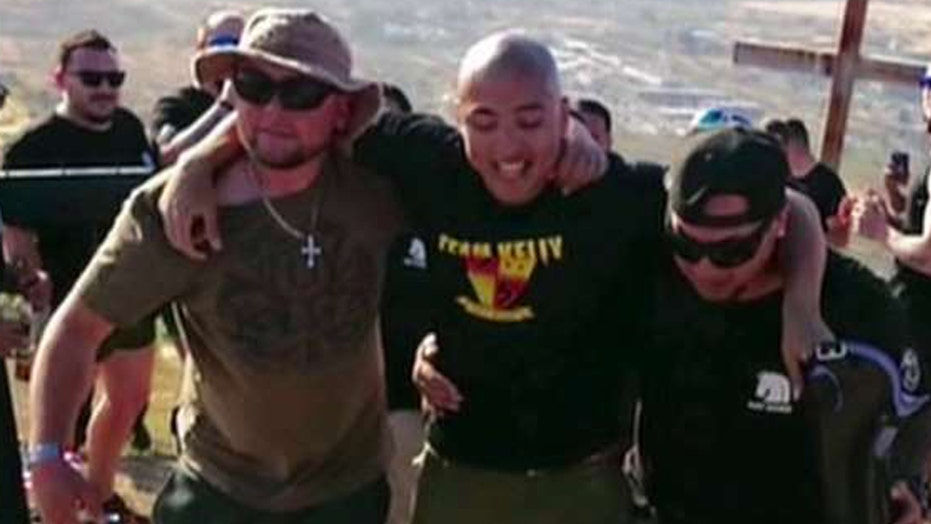 Former Marine hikes nearly a mile upwards with one leg