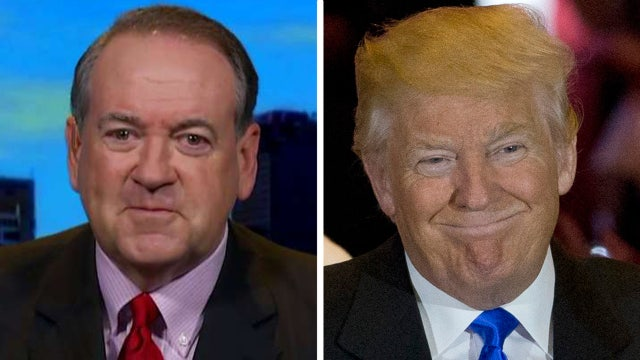 Is Mike Huckabee looking to join the Trump ticket?