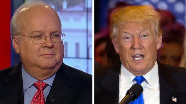 Rove: Time for Trump to tone it down, use a teleprompter
