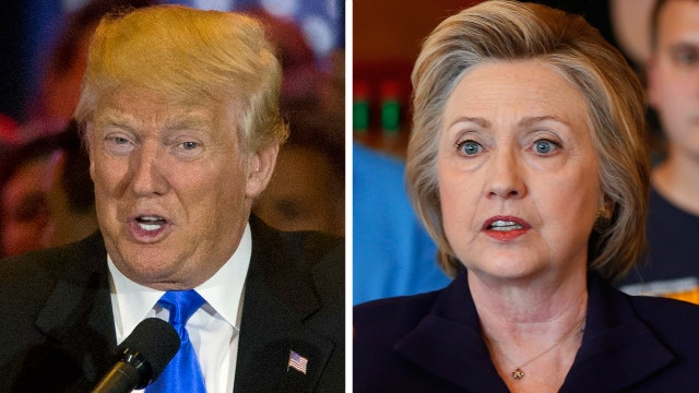Can Trump's personality top Clinton's campaign structure?