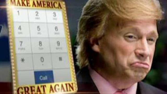 'Donald Trump' celebrates becoming presumptive GOP nominee