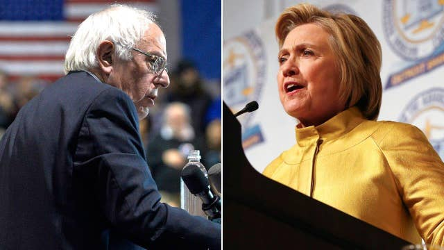 Clinton leads Sanders by double digits in California polls