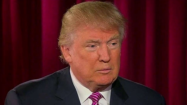 Trump on potential VP pick, funding campaign, foreign policy