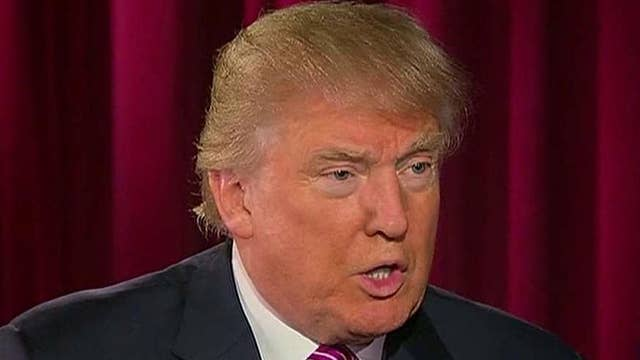 Trump on potential running mate