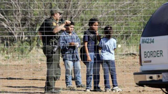 Illegal immigrant numbers surge at Mexican border