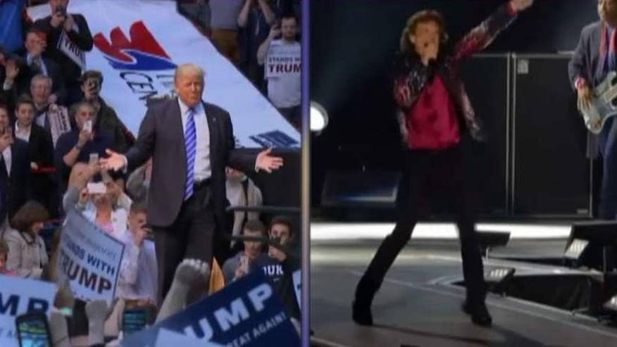 FOX411: Rolling Stones do not want Donald Trump using their songs at his campaign events