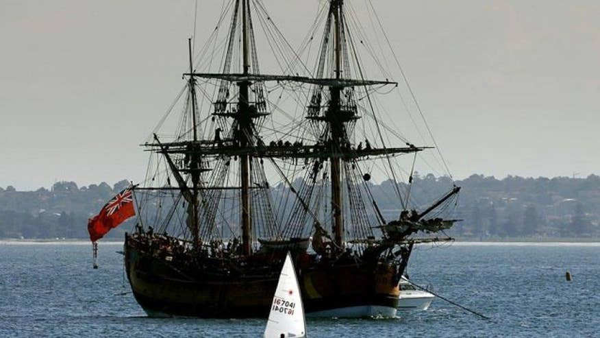 Marine archaeologists say they found HMS Endeavor at bottom of Newport Harbor