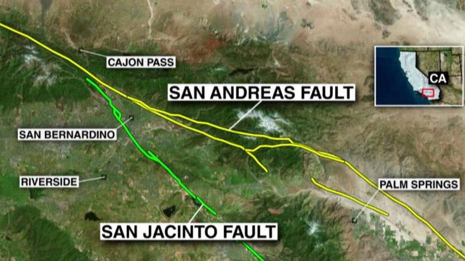 Scientist: San Andreas fault 'locked and loaded' in Calif.