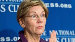 The night of Donald Trump's big Indiana Republican primary win, Sen. Elizabeth Warren, D-Mass., was ready. She tore loose with a series of late-night anti-Trump tweets in which she accused him of racism, sexism, xenophobia, narcissism and a host of other faults.