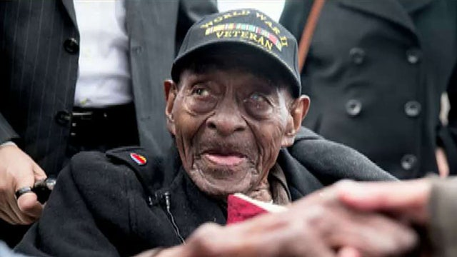 Oldest American WWII vet dies at age 110