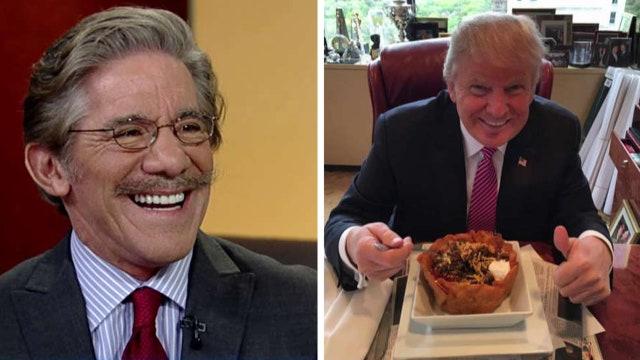 Geraldo weighs in on Trump's Cinco de Mayo picture