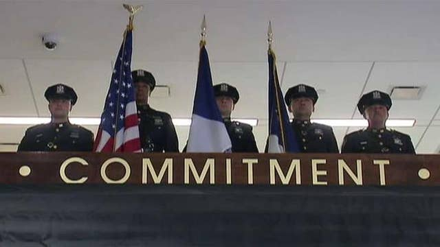 NYPD unveils memorial honoring heroes who died while on duty