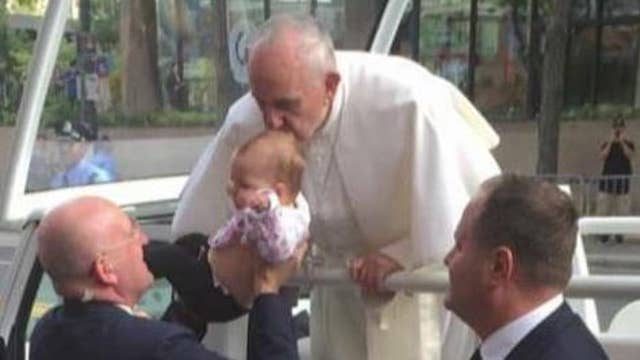 Families speak on stories of Pope Francis' healing powers