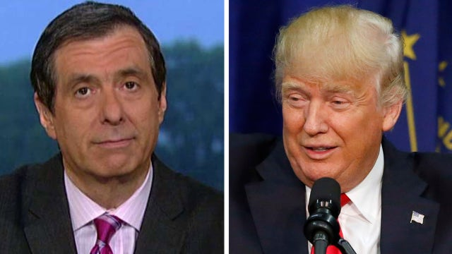 Howard Kurtz on media's Donald Trump 'blunder'