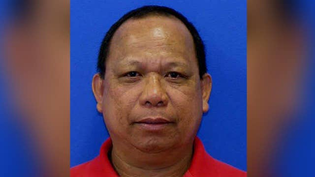 Federal police officer sought in Maryland shootings