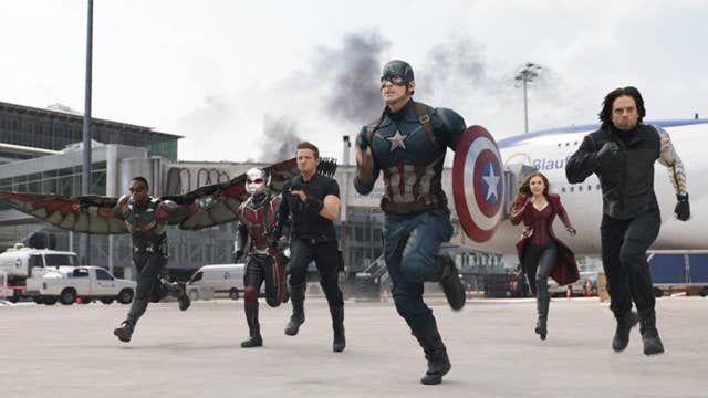 Will Team Cap win the weekend with 'Civil War'?