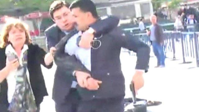 Gunman arrested after opening fire on journalist in Turkey