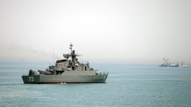 Iran threatens to cut off the Strait of Hormuz to the US