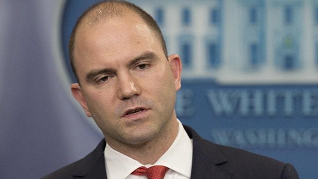 Rhodes: Media echoed White House talking points on Iran deal