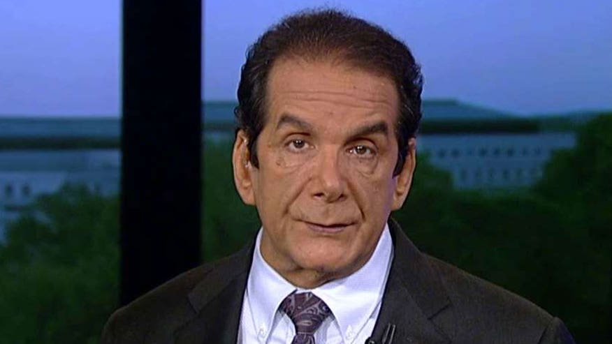 Krauthammer: 'Republicans have experienced the biggest ideological earthquake of a major party in our lifetime'