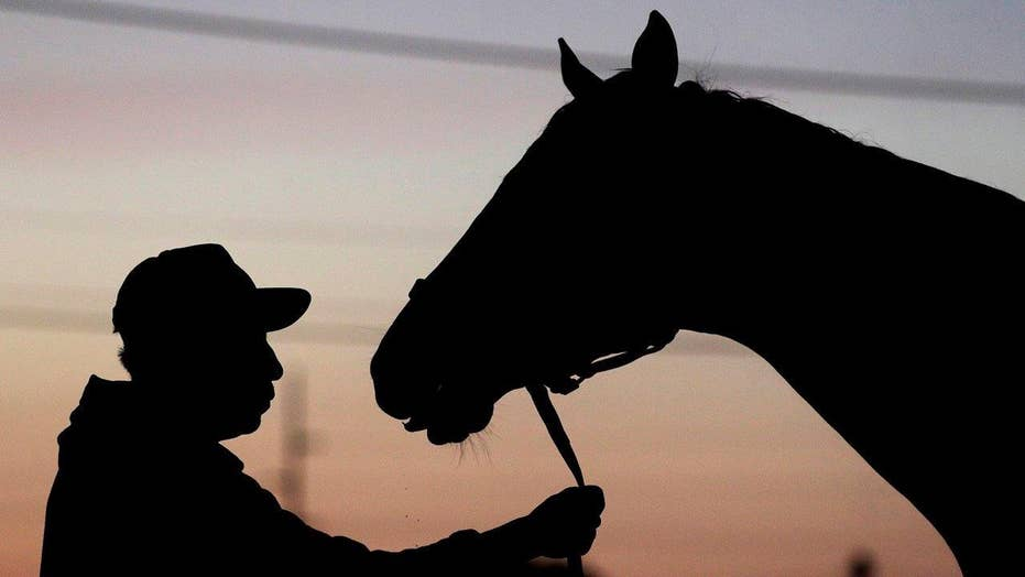 Horses, jockeys and owners prepare for Kentucky Derby