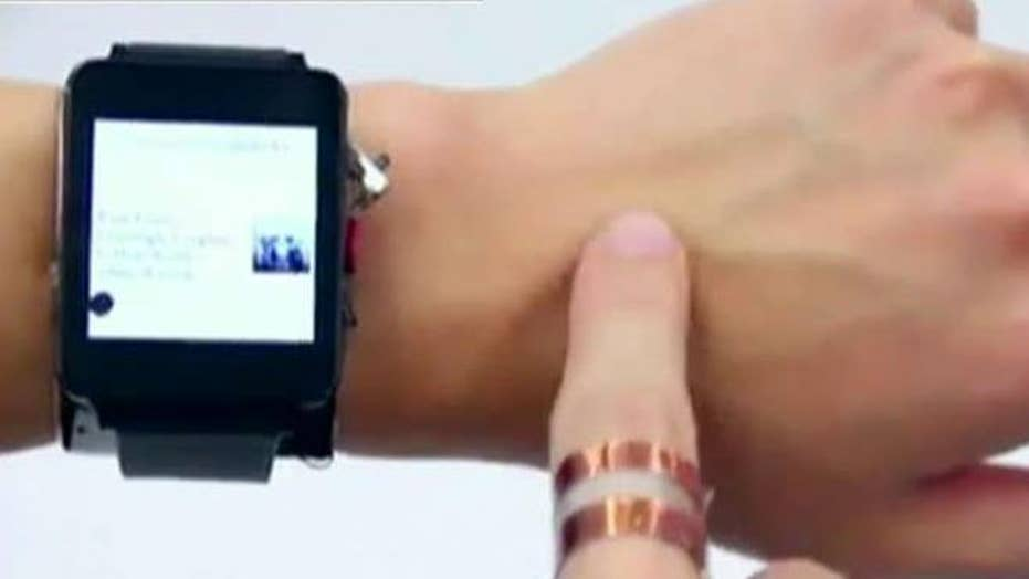 New technology can turn your skin in to a touch screen