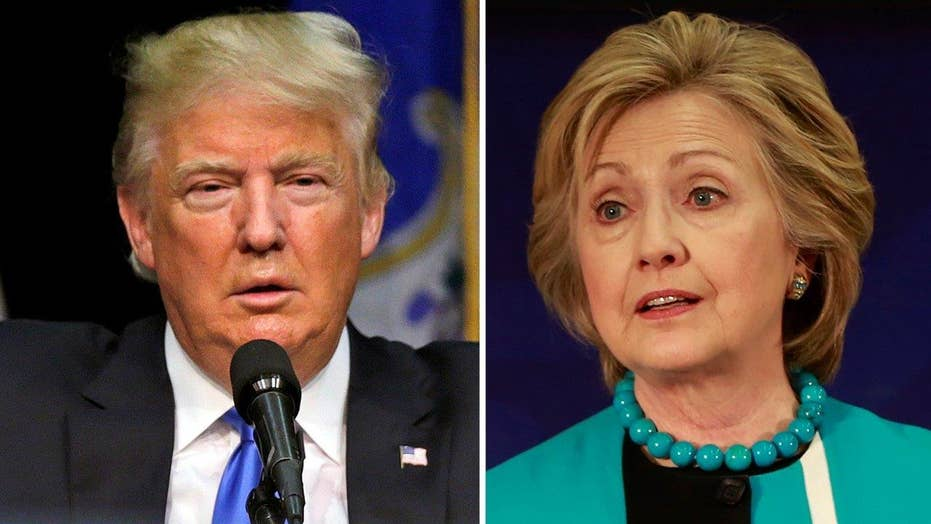 Trump vs Clinton electoral map: Which states are crucial?