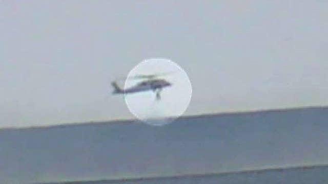 Marine Corps Harrier jet crashes off NC coast