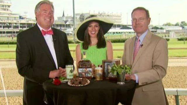 Pricey Kentucky Derby mint julep benefits horse charity