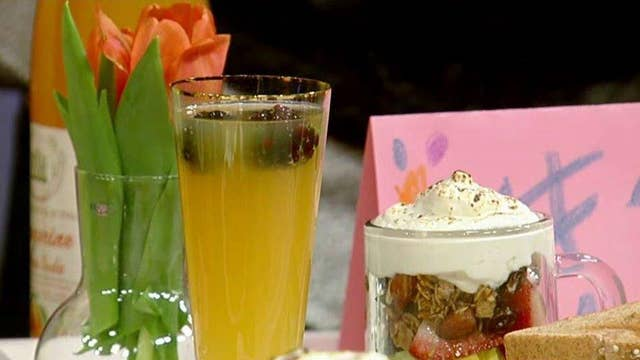 Preparing the perfect Mother's Day brunch