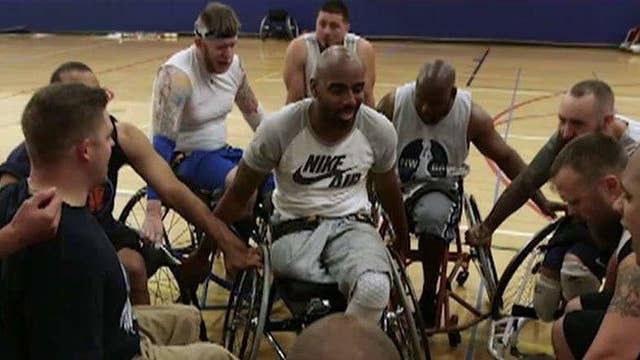 Invictus Games: Wheelchair basketball