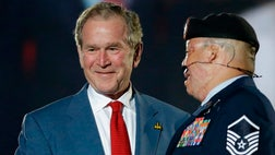 President George W. Bush is the honorary chairman of the Invictus Games this year.