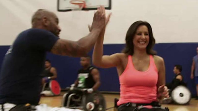 US wheelchair basketball team preps for the Invictus Games