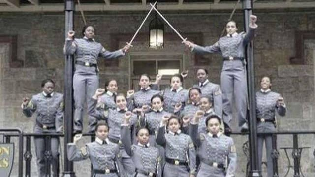 West Point probes black cadets over fist-raised picture