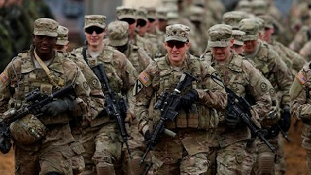 Report: US troop strength lowest since 1940