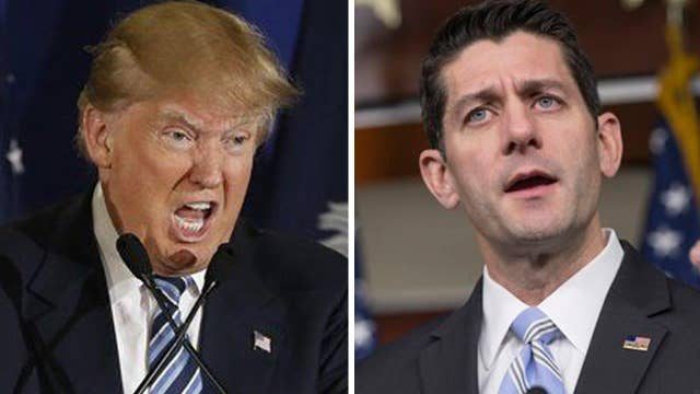 Trump, Ryan playing political chess: Who has the edge?