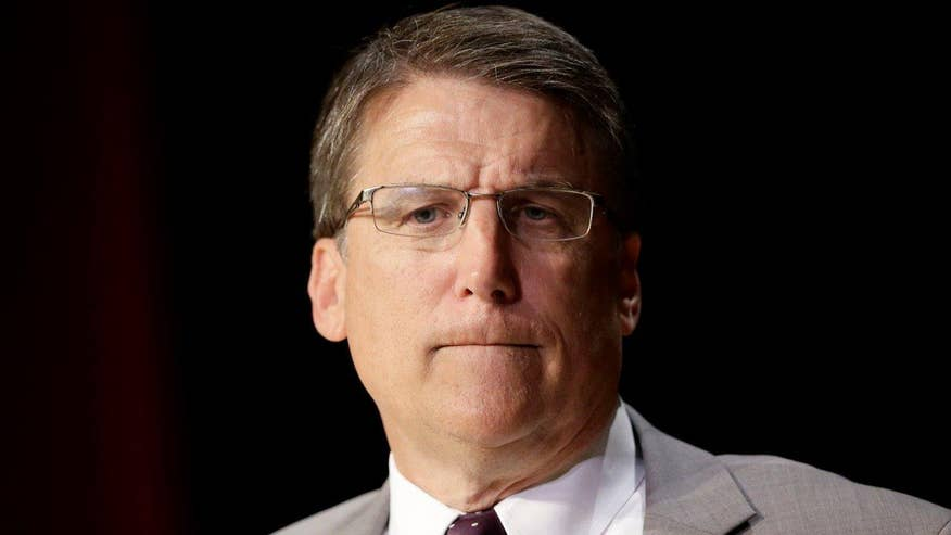 North Carolina governor on lawsuit filed against DOJ over 'bathroom bill'