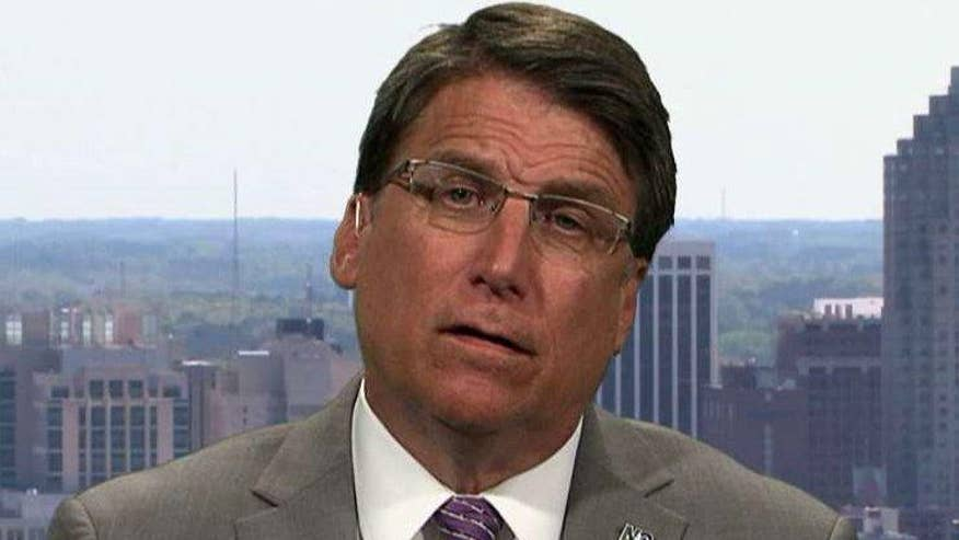 The Justice Department and North Carolina filed dueling lawsuits Mover the state's controversial bathroom law. NC Gov. Pat McCrory goes 'On the Record' to give his side of the story