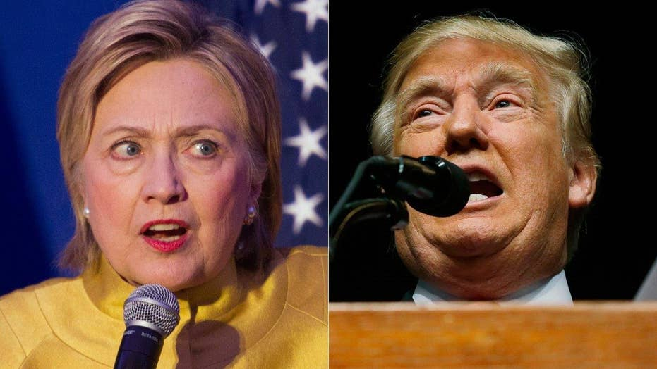 Party lines blur as Clinton, Trump look for unlikely support