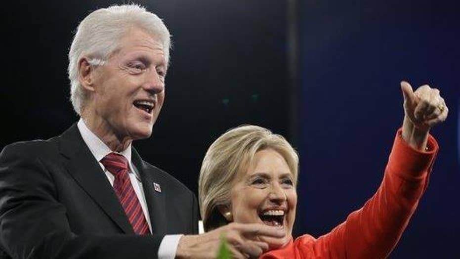 Should Trump be blaming Clinton for Bill's indiscretions?