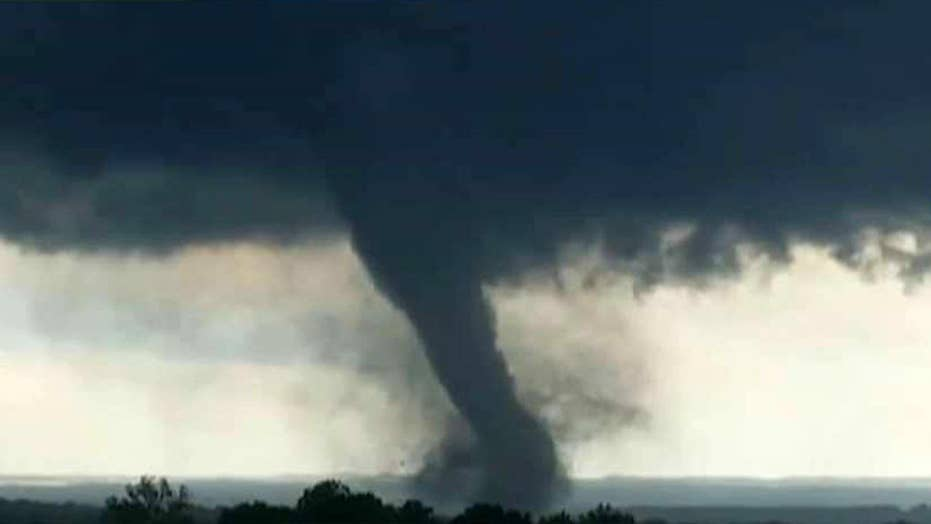 Tornado kills at least two people in Oklahoma