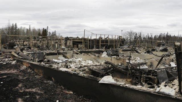 Cool weather, rain help in Alberta, Canada wildfire battle