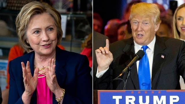 Polls: Clinton, Trump in airtight race in key swing states
