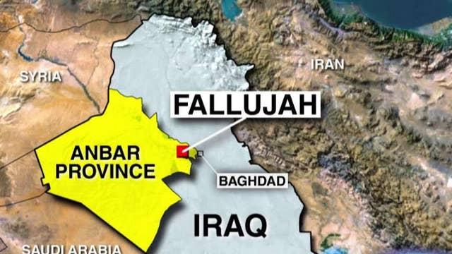 US military advisers help plan recapture of Fallujah