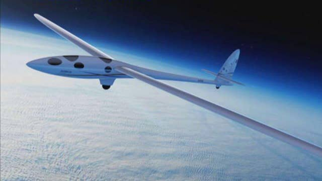 'Space glider' looks to shatter altitude record