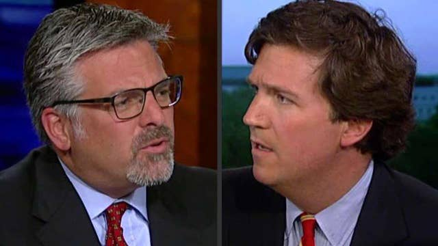 Carlson and Hayes spar over Trump agenda, GOP unity