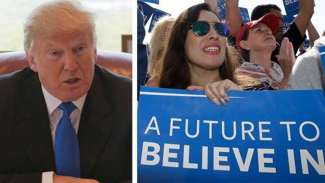 Can Donald Trump attract Democratic voters?