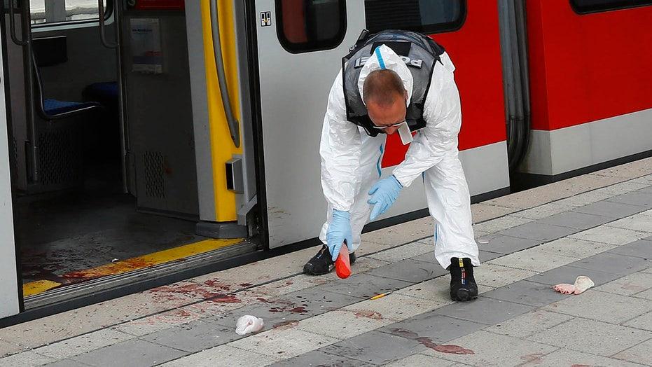 Germany: Man said Allahu akbar amid knife attack on train